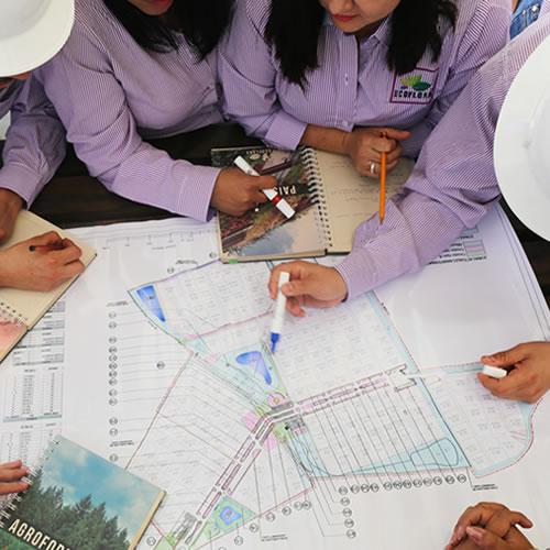 Asesoría técnica en diseño y construcción de obras civiles paisajistas